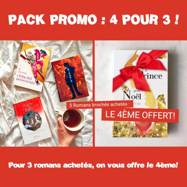 Pack Promo : 4 pour 3