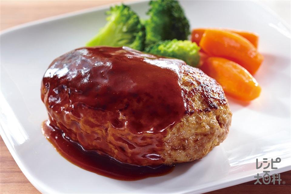 Recettes japonaises : le Hambagu No.6 du top 6 des meilleurs plats dégustés dans mes romans de fantasy et romances.