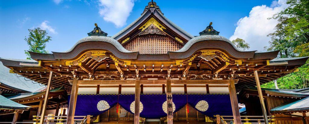 Sanctuaire et château au Japon : Ise jingu